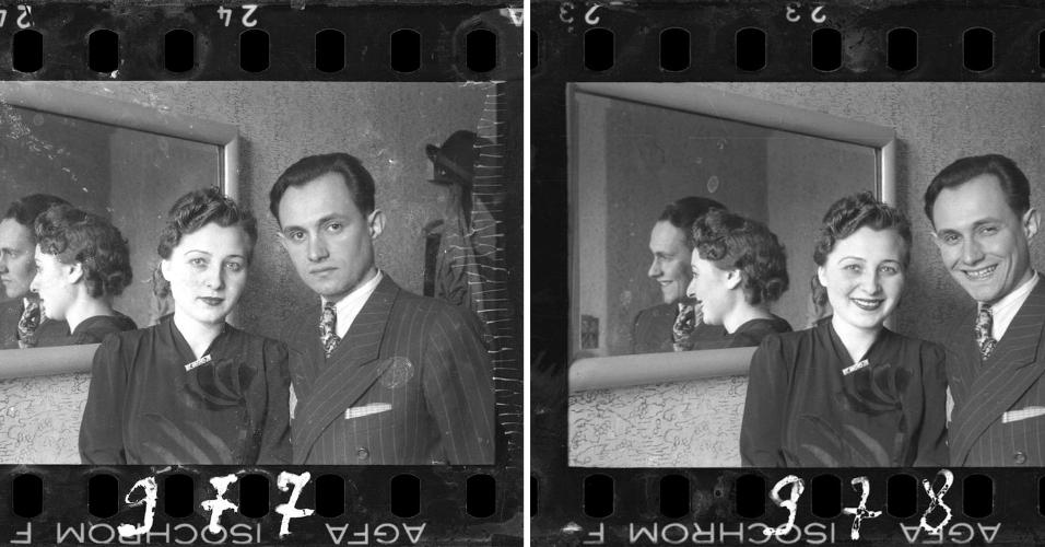 Entre 1940 e 1944, o fotógrafo polonês Henryk Ross registrou o cotidiano de judeus na cidade de Lodz, invadida pelos nazistas em 1939 e transformada em um gueto. Judeu como os confinados, o fotógrafo arriscou sua vida fotografando a vida e morte de seus vizinhos, enquanto ganhava a vida com retratos para os opressores alemães. Para não colocar seu trabalho em risco, Henryk enterrou os negativos em uma caixa no quintal de casa, em 1944. Um ano depois, após a queda do exército alemão, o polonês desenterrou as imagens, que hoje estão no acervo de um museu no Canadá