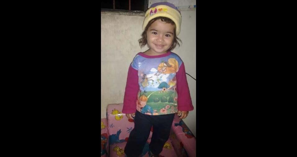 Valcimar, de Linhares (ES), enviou foto da filha Helena, de três anos