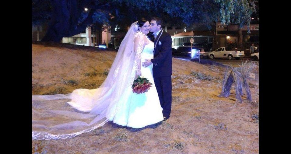 Leandro e Thalita se casaram em 22 de setembro de 2012, em Bauru (SP)