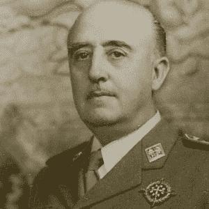 Francisco Franco (1892-1975) - Reprodução/Venngage