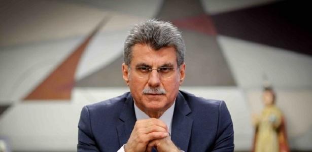 O senador e ex-líder do governo na Casa, Romero Jucá (MDB-RR) - Reprodução/Sérgio Lima/Poder360