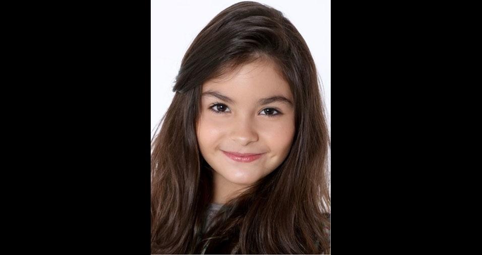 Jenifer Anduca, de São Paulo (SP), enviou foto da filha Isabelli, de dez anos