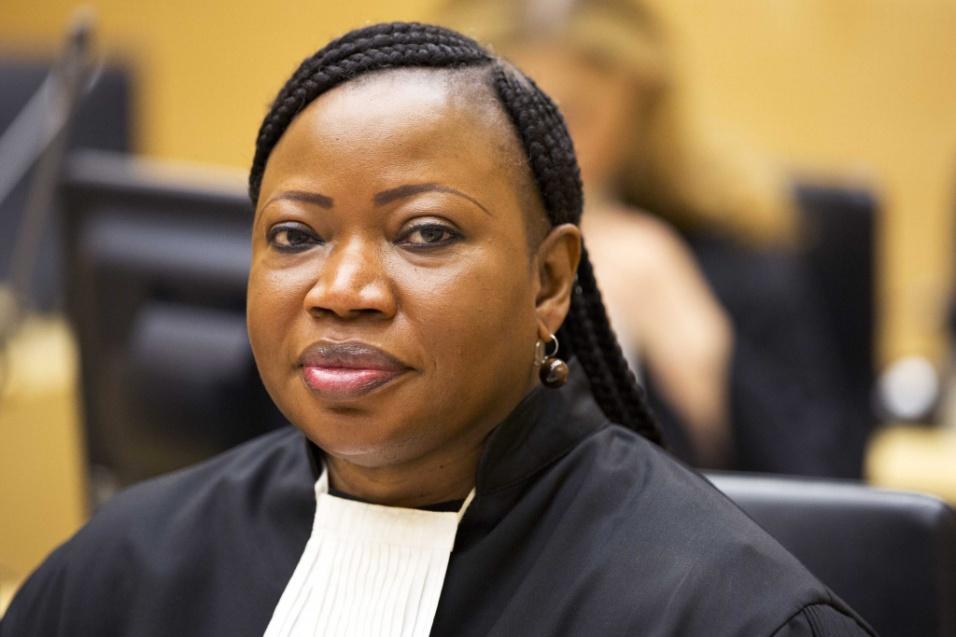 Categoria Ícones: Fatou Bensouda, de Gâmbia, procuradora do Tribunal Criminal Internacional