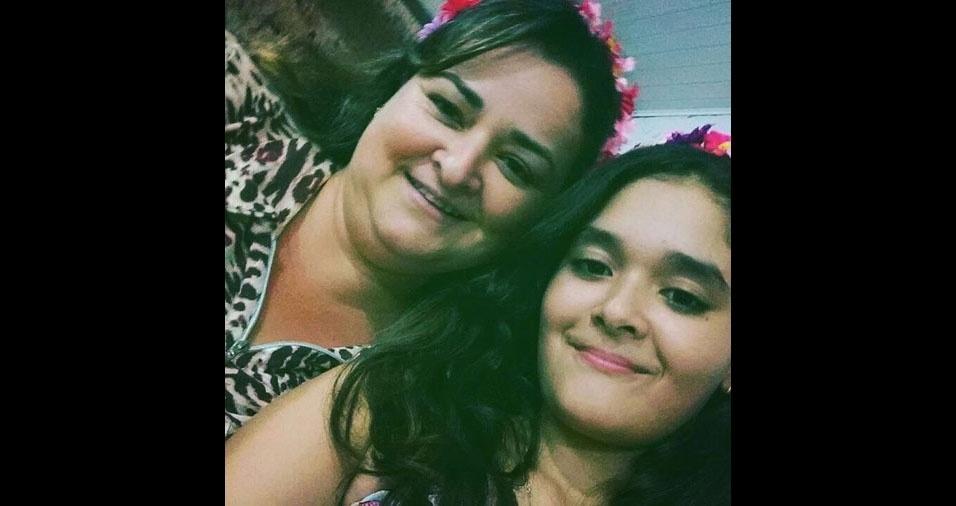 Leticia Dorio é a filha de Arlete, de Olímpia (SP)