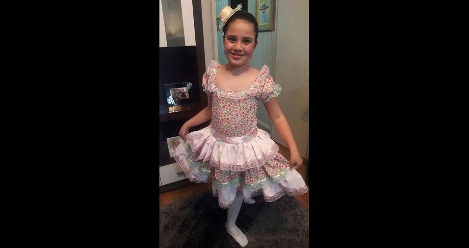 """Viviane Marcos, de Tubarão (SC), apresenta: """"Minha princesa bailarina Sophia Marcos"""""""