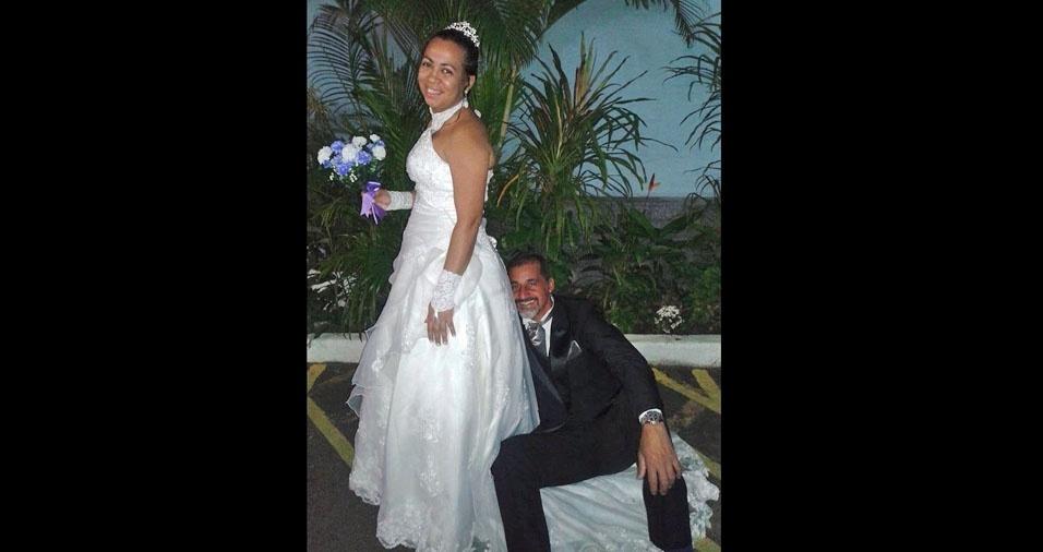 Mario Camargo Sobrinho e Adriana Pereira da Silva Camargo casaram em  27 de junho de 2015, no Rio de Janeiro (RJ), na igreja Nossa Senhora do Rosário de Fátima e Santo Antônio Lisboa