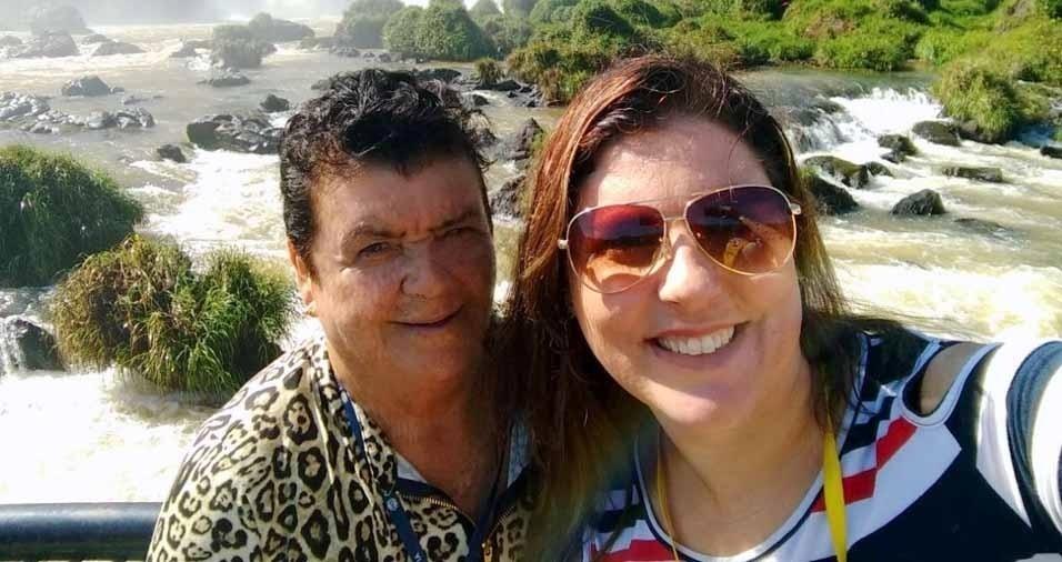 Vanessa Torres com a vovó Lorena Torres, de Sapiranga (RS)