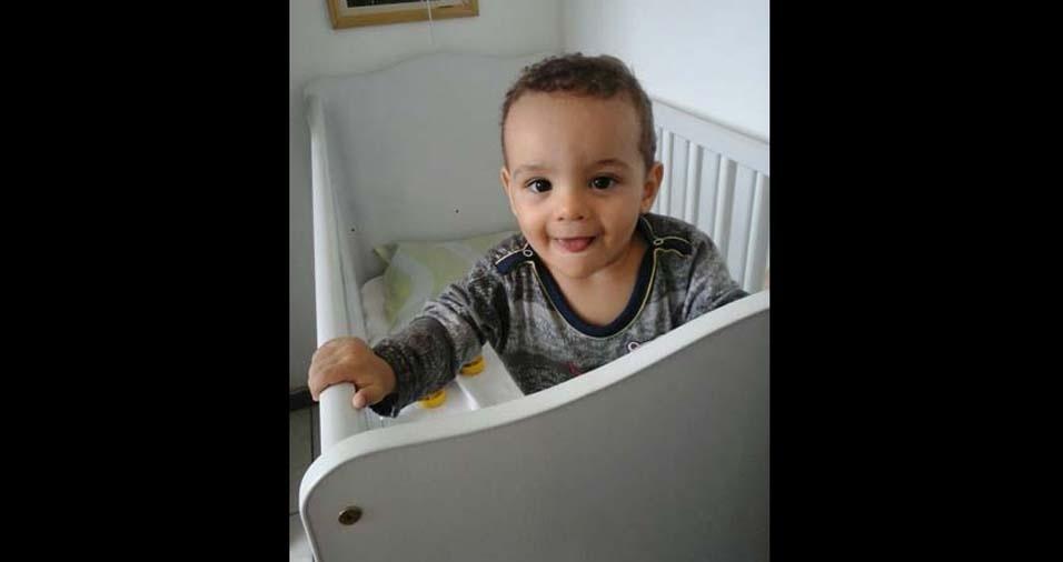 Sérgio Thadeu enviou foto do filho Theo, de Belo Horizonte (MG)