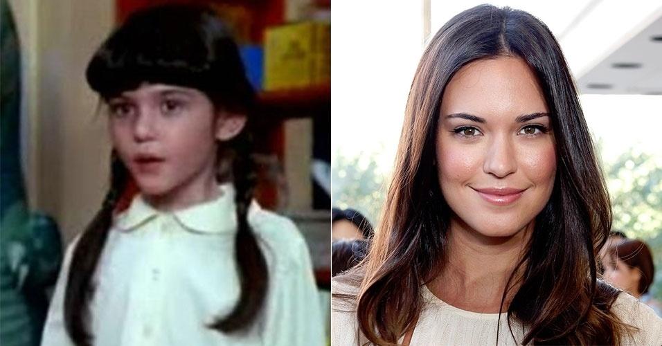 """A pequena Odette Annable, que viveu Rosa em """"Um Tira no Jardim de Infância"""", se tornou uma linda mulher e segue na carreira de atriz"""