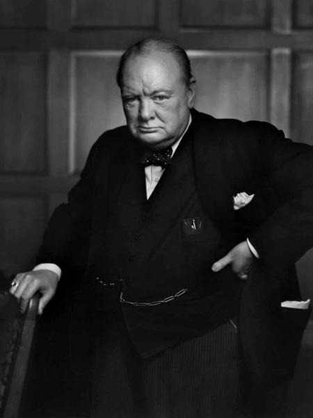 Winston Churchill - Yousuf Karsh