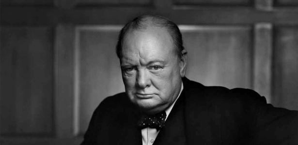 O primeiro-ministro britânico Winston Churchill também escreveu sobre biologia e energia de fusão