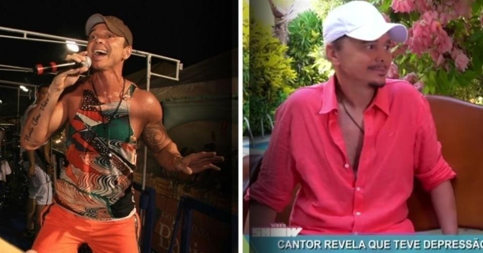 """16.fev.2017 - Netinho irá retornar ao Carnaval de Salvador depois de cinco anos de luta contra vários problemas de saúde, como três acidentes vasculares cerebrais (AVC), depressão e duas tentativas de suicídio. O cantor baiano, que se apresentará no Camarote do Nana, falou sobre o seu retorno ao """"Vídeo Show"""", da TV Globo. """"Não canto no Carnaval desde 2012, desde que me mudei para o Rio, depois eu adoeci.Tive três AVCs em apenas uma semana. Fiz três cirurgias, tenho uma válvula no cérebro ainda. De maio a outubro de 2013, fiz mais de 3 mil exames médicos"""", afirmou. """"Foi muito grave o que eu tive. Fiquei quatro meses sem falar nada. Imagina? Você cantar a sua vida toda, trabalhando com a sua voz, acordar o outro dia sem poder abrir a boca para falar. [Mas] Já passou (...) Chega de hospital, basta, acabou"""", contou ele, com lágrimas nos olhos."""