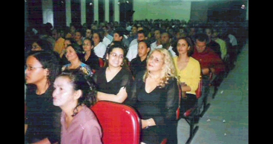 Fernanda Abreu com a mamãe Maria das Graças