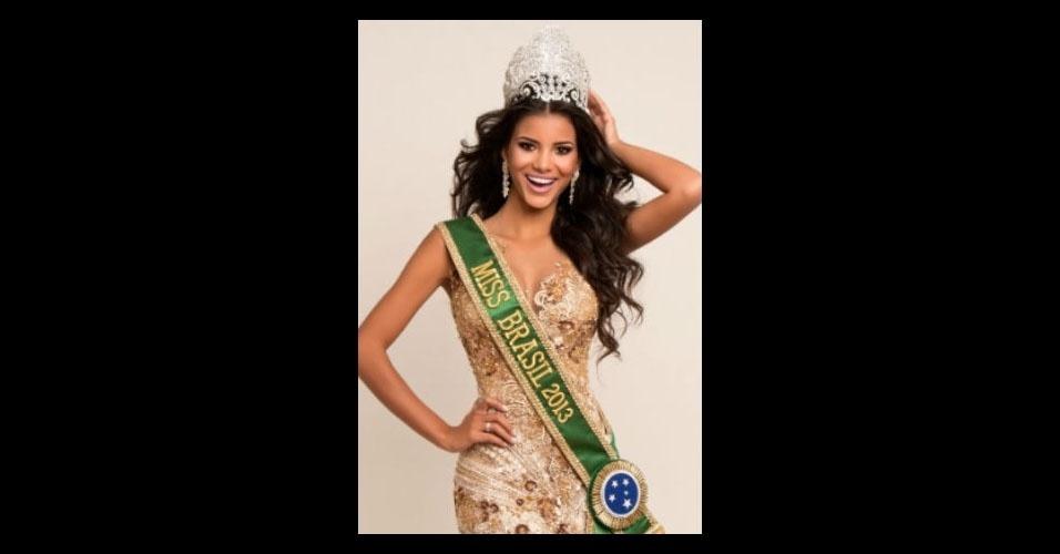 15. Jakelyne Oliveira - a Miss Mato Grosso 2013 ficou na 5ª colocação do Miss Universo