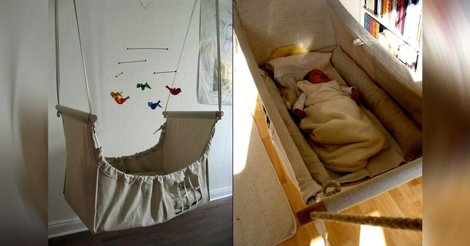 25. Cesto suspenso para embalar recém-nascidos