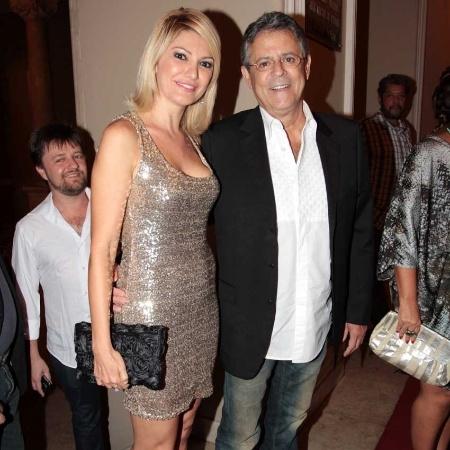 Marcos Paulo com Antonia Fontenelle em 2012 - Orlando Oliveira/AgNews