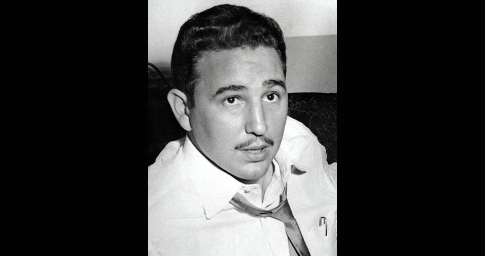 Fidel Castro em 1955