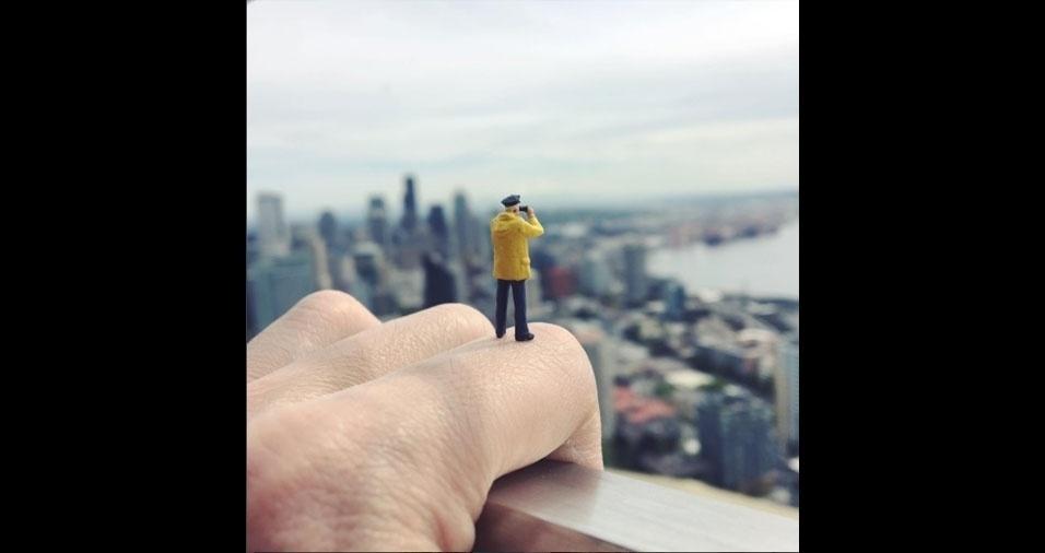 7. Apesar de ser fotógrafo profissional, Lin usa apenas a câmera de seu iPhone para registrar os trabalhos