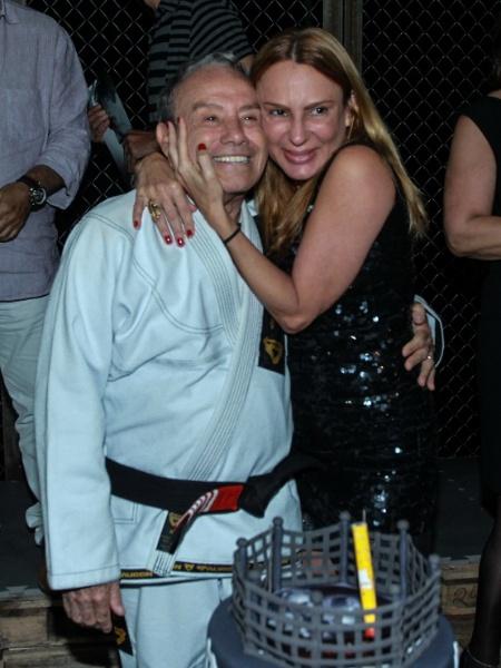 Stênio Garcia e Marilene Saad estão juntos há 18 anos - AgNews