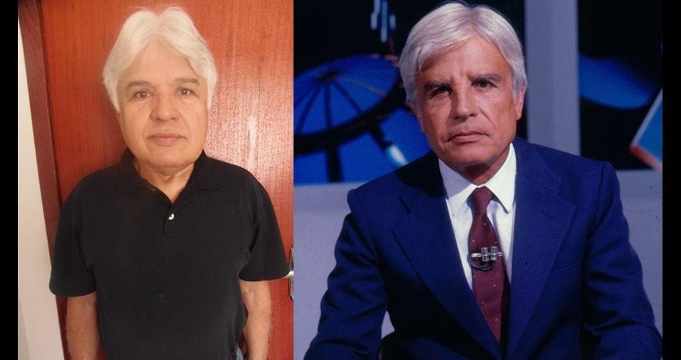 Josias Ferreira Barboza, de Volta Redonda (RJ), se acha parecido com Cid Moreira