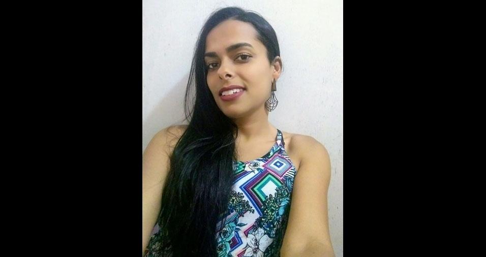 Josiane Moreira, 32 anos, de Diamantina (MG)
