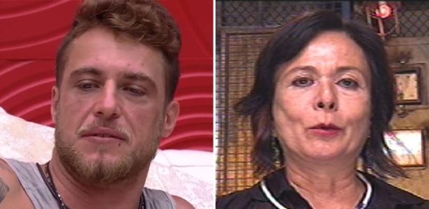 """Daniel e Harumi disputam a permanência na casa do """"BBB16"""" - Reprodução/TV Globo"""