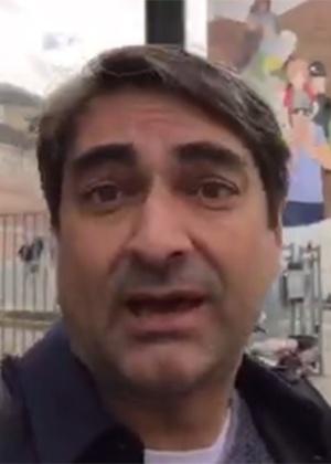 Zeca Camargo circula por ruas da cidade de Bruxelas para mostrar o clima na cidade após atentatos terroristas - Reprodução/Instagram