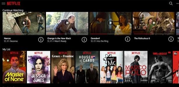 Serviços como Netflix preocupam operadoras de telecomunicações e TVs pagas - Reprodução/thurrott