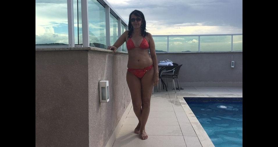 Rosangela Picasky, 49 anos, de São Francisco do Sul (SC)