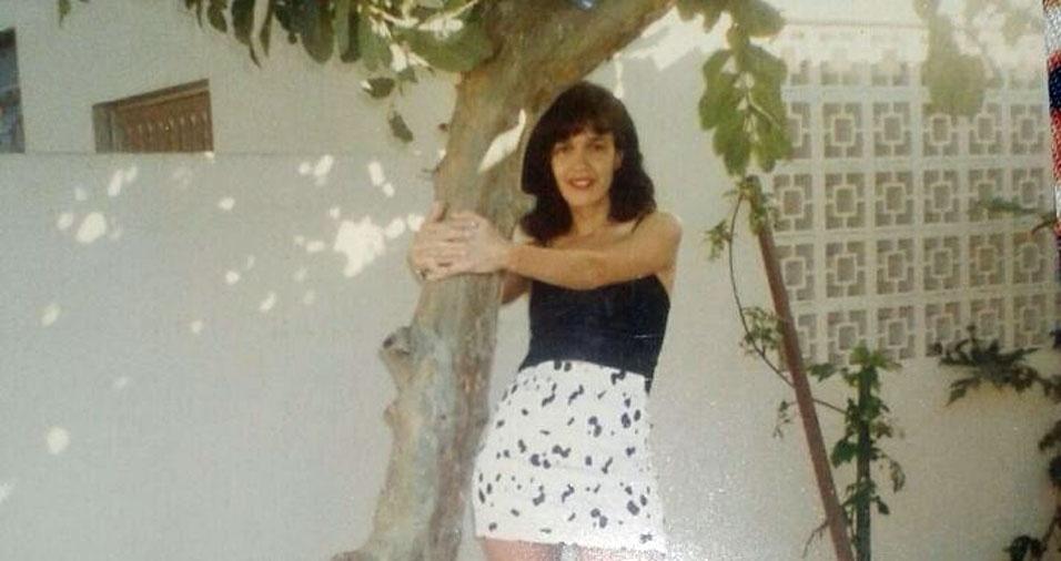 Rosangela Picasky, de Itajaí (SC), tinha 29 anos e estava na casa onde era muito feliz
