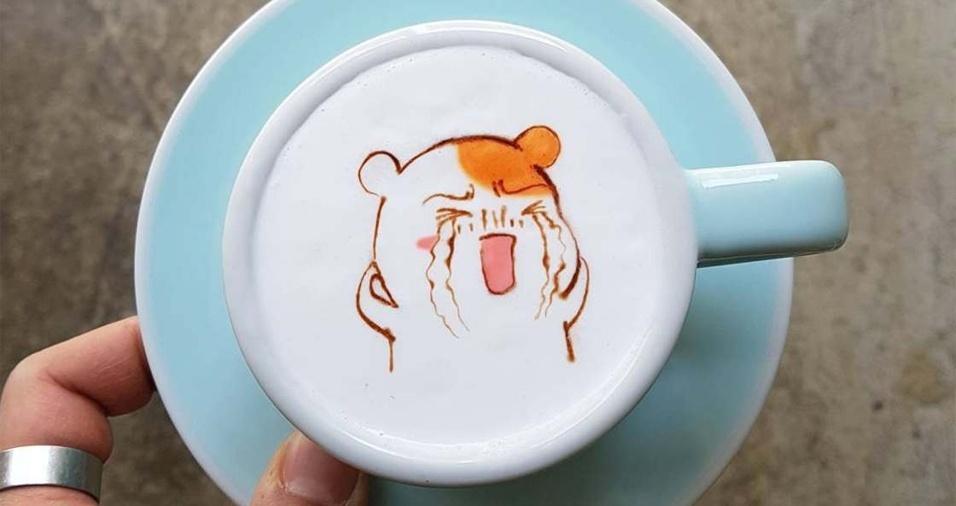 13. Os amantes do café ficam impressionados com o trabalho de Lee e não se cansam de elogiá-lo em suas redes sociais