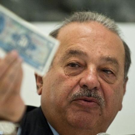 Carlos Slim, dono do grupo América Móvil, que controla a Claro, a Net e a Embratel - Reprodução/pursuitist
