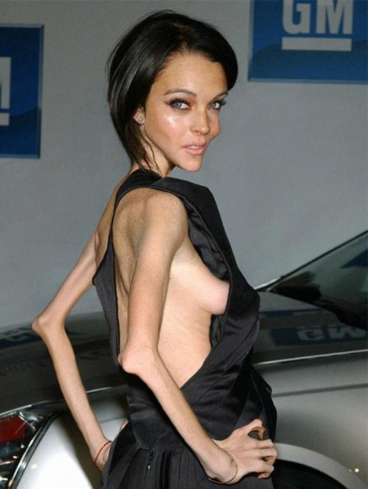 Lindsay Lohan, por Nilo