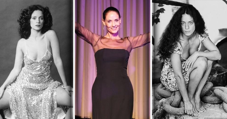 """Sonia Braga conquistou o Brasil após interpretar a personagem título da novela """"Gabriela"""", em 1975. Símbolo sexual da década de 1970, Sonia participou ainda de """"Dancin' Days"""" e do longa metragem """"Dona Flor e Seus Dois Maridos"""". Nascida em 8 de junho de 1950, a atriz recebeu a partir dos anos 80 diversas indicações a prêmios como o Oscar ou o Globo de Ouro. Mesmo seguindo a carreira de atriz nos Estados Unidos, onde gravou filmes e participações especiais em seriados como """"Sex and The City"""" e """"Brothers & Sisters"""", Sonia sempre voltou ao Brasil; gravou a novela """"Páginas da Vida"""" e estrelou filmes como """"Tieta do Agreste"""" e """"Aquarius"""". Relembre a seguir outros momentos da atriz"""