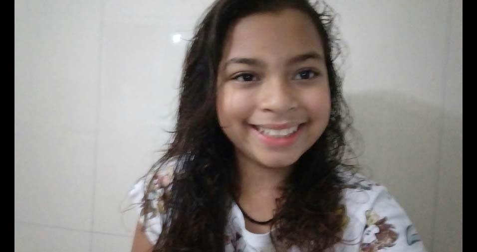Daniella dos Santos, de São Paulo (SP), enviou a foto da filha Mayara Santos