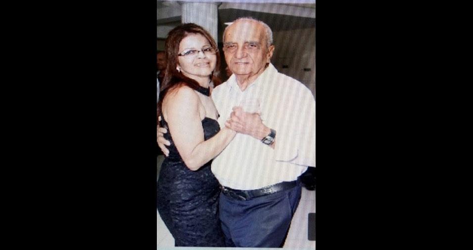 Silvana e o papai José, de Guarulhos (SP)