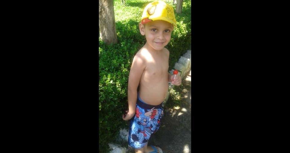 Monica, de São Luis (MA), enviou foto do filho Rian Wesley, de cinco anos