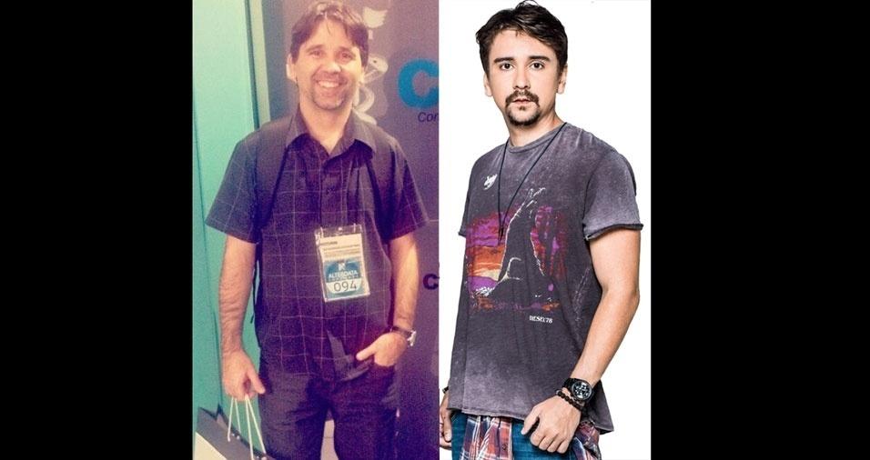 """Giovanni Werneck Pelegrino, de Belo Horizonte (MG), conta: """"Me acho parecido com Davi de Ávila, da dupla Bruninho & Davi"""""""