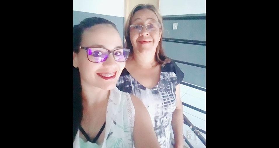 Angélica e a mamãe Vera, de Ijui (RS)