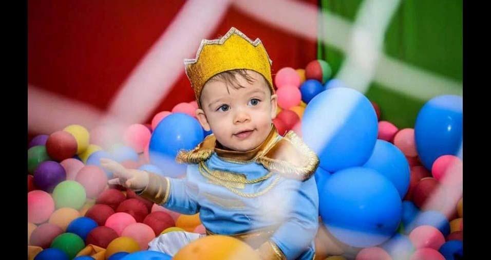 Josemar, de Serrinha (BA), enviou foto do filho Gustavo