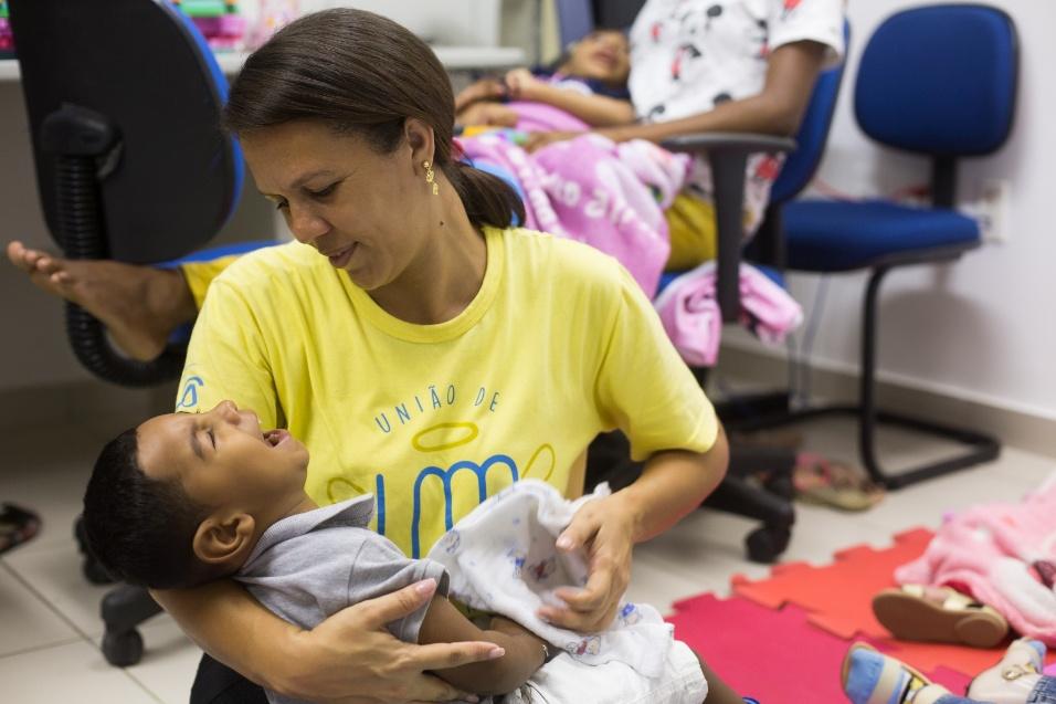 Germana Soares - UMA - O grupo de mães, que começou no WhatsApp, também é uma rede de apoio entre elas, onde todas podem tirar dúvidas, compartilhar experiências umas com as outras e entender a evolução dos filhos