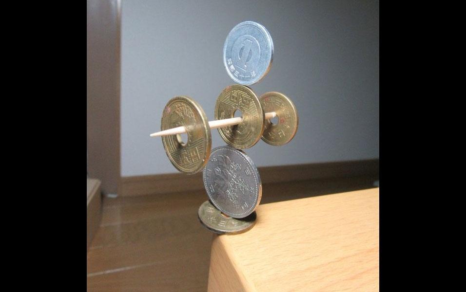 13. Palitinho equilibrista
