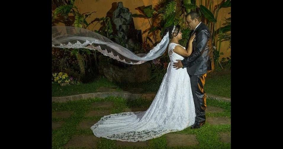 Luciane e Adriano se casaram em 17 de dezembro de 2016, em São Paulo (SP)