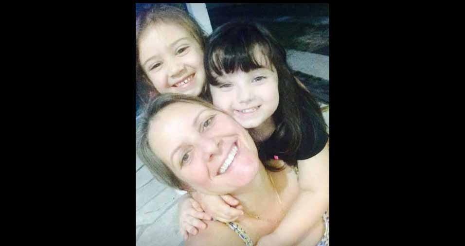 Vovó Adriana Henrique com sua duas netas, Alice Godoi e Maria Luísa Segreto, de São José dos Campos (SP)