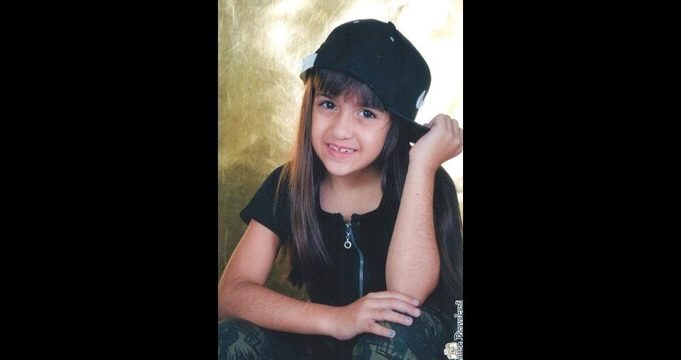 Laura é a filha Alan Andrighetto de Oliveira, de Londrina (PR)