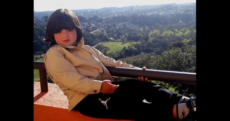 Vanessa enviou foto do filho Pietro Henrique