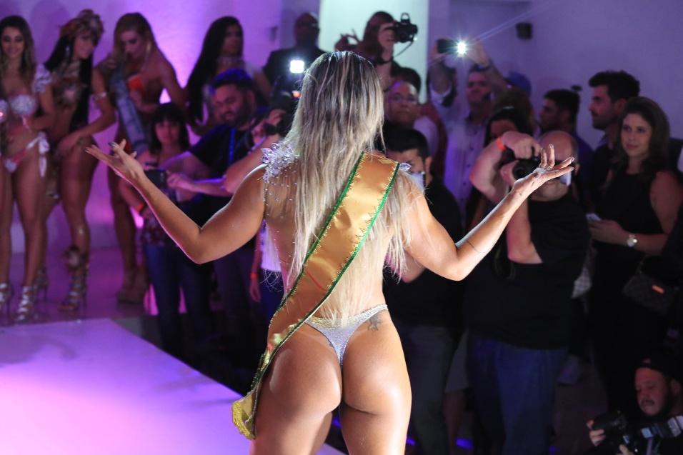 9.nov.2015 - Representando o Rio de Janeiro, Dani Sperle ficou em terceiro lugar no Miss Bumbum 2015