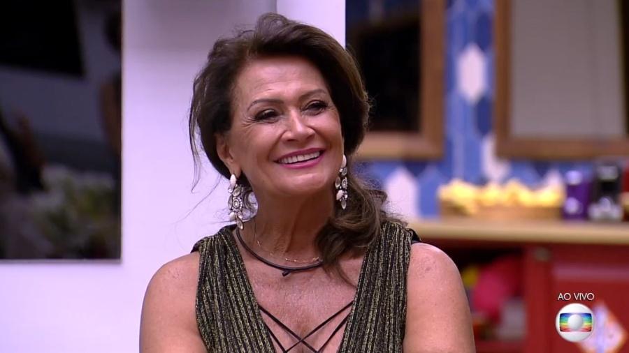 "Ieda sorri na final do ""BBB17"" - Reprodução/TV Globo"
