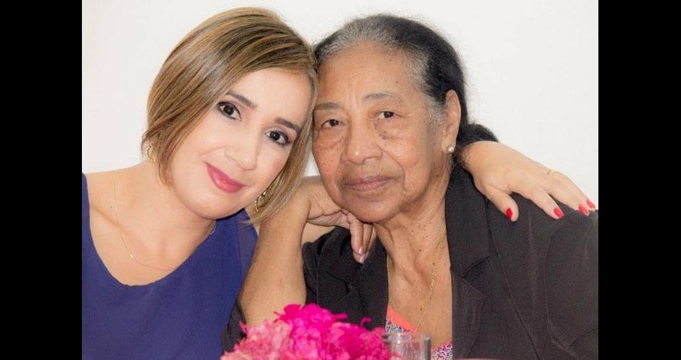 Gisele enviou a foto da mamãe Santina, de Guarulhos (SP)