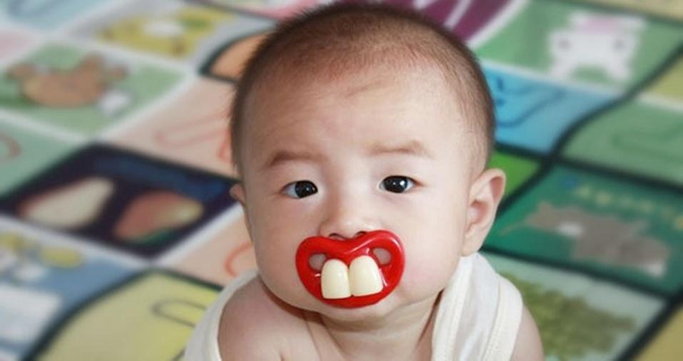 8. Este bebê com certeza vai chamar atenção por onde passar